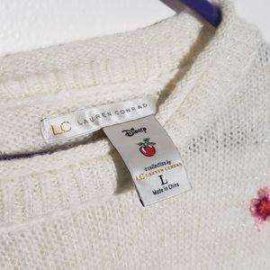LC Lauren Conrad Disney Snow white Sweater
